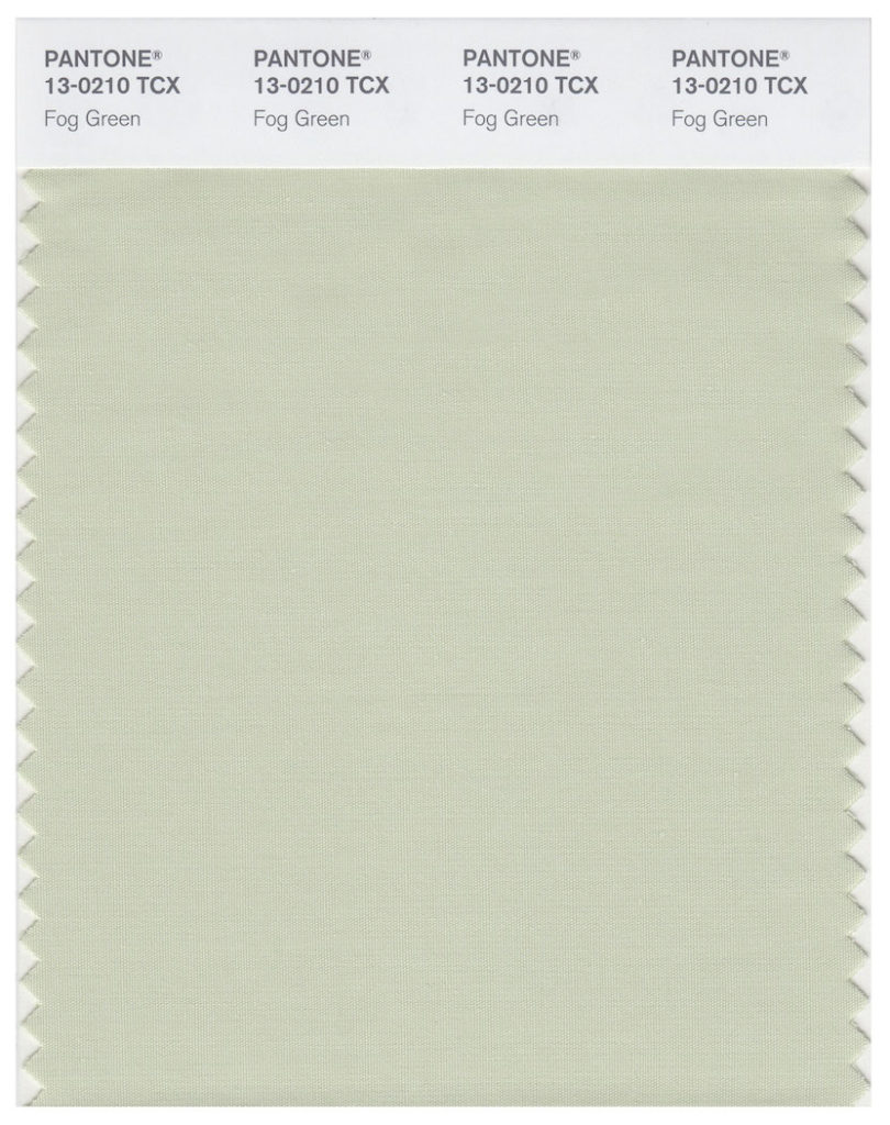 Around Color of the Month: 13-0210 Fog Green by PANTONE / Urban View