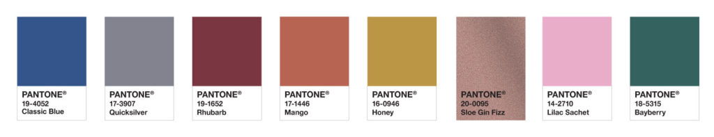 EXOTIC TASTES PALETTE - Pantone Color of the Year 2020