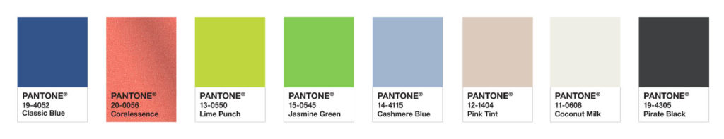 SNORKEL PALETTE - Pantone Color of the Year 2020