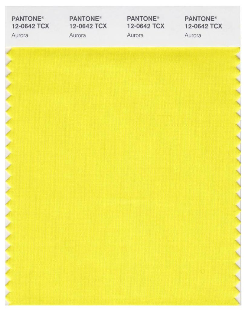 Our Color of the Month for February 2020 is uplifting yellow.